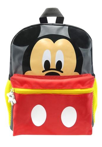 Disney Mickey black Disney Mickey Mouse Kids Backpack (12-Inch) D7401KCC7C32A0GS_1