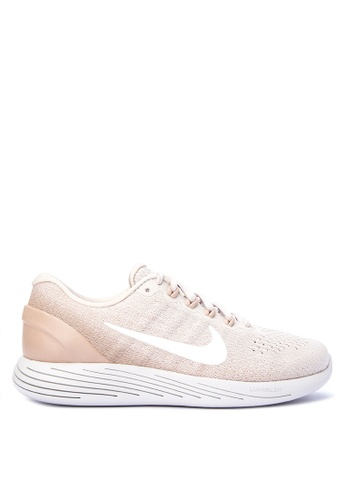 Nike beige Women's Nike LunarGlide 9 Running Shoes NI126SH0STSKMY_1