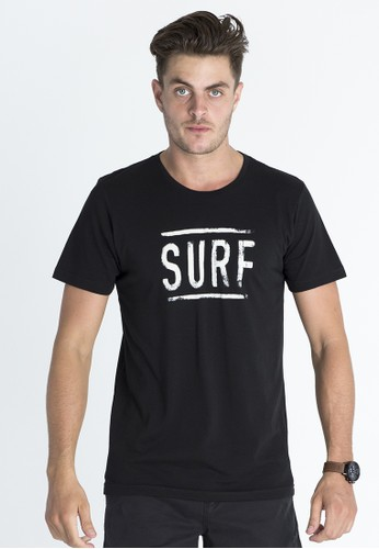 Rip Curl Just Surf Tee Men Black