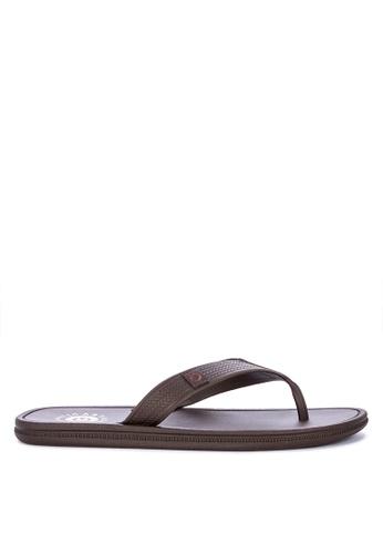Cartago brown Maiorca Essencial Flip Flops 1222ASH8B0A608GS_1