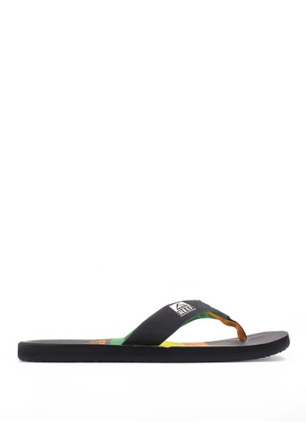 Reef black REEF HT PRINTS DARK RASTA 7C43BSH6DB32A8GS_1