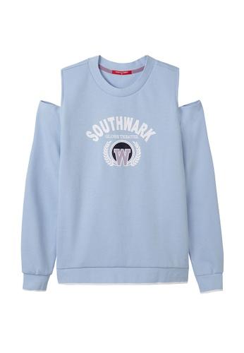 Cheetah blue Cheetah Ladies Casual Long Sleeves Knit Sweater - CL-65026-C1 6A4CEAAA9E42D3GS_1