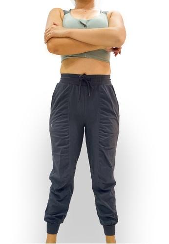 OHMfinity grey OHMfinity JODY Relax Fit Pants - Dark Grey C41BAAAC1F1238GS_1