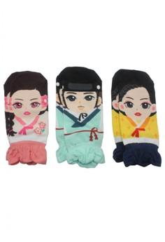 Hanbok socks (3 pieces set)