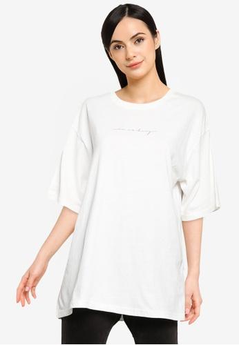LOWRYS FARM white Art Print T-Shirt DD523AA50718FCGS_1