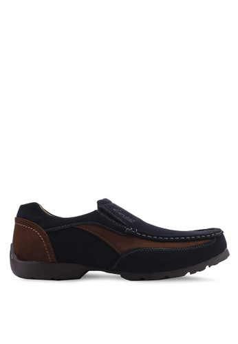 Louis Cuppers black Casual Slip Ons B4FCCSH4381F59GS_1
