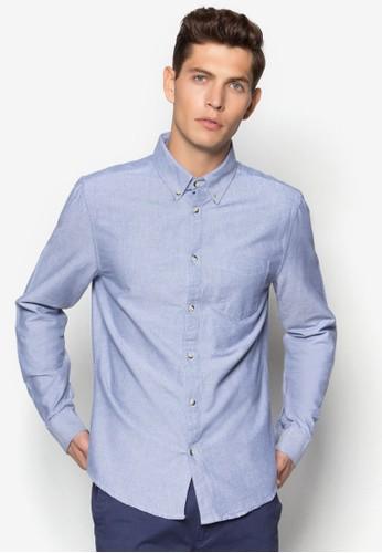 素色牛津長袖襯衫, 服飾, 服esprit暢貨中心飾