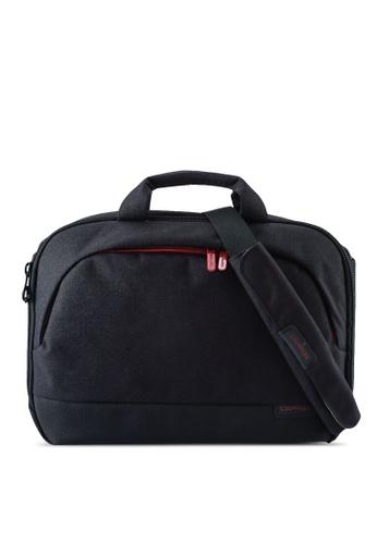 CRUMPLER black and red Mantra Briefcase Bag 83D72ACB5C5E12GS_1