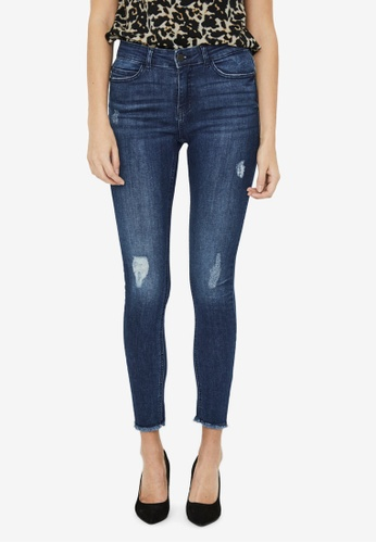 Noisy May blue Lucy Ankle Jeans 9FC3FAAD66B8A6GS_1