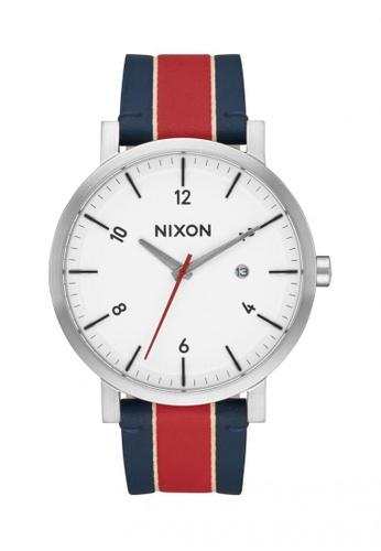 Nixon white and red and blue Nixon - Rollo - White/Stripes NI855AC56OHRSG_1