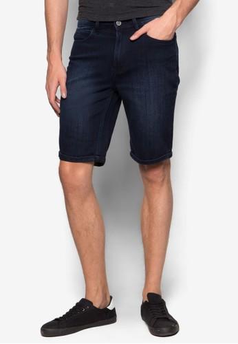 水洗esprit 品牌丹寧短褲, 服飾, 短褲