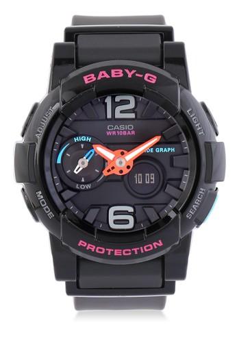 Baby-G black Casio BABY-G Jam Tangan Wanita - Black - Resin - BGA-180-1BDR 455EBAC9CB8AEFGS_1