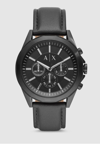 Armani Exchange black Drexler Watch AX2627 EAD54AC4F38427GS_1