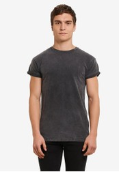 Topman grey Short Sleeve Roller Tee TO413AA0S7XSMY_1