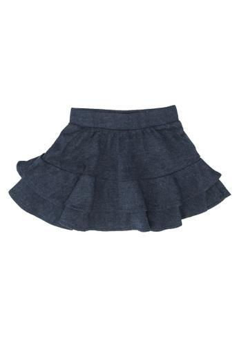 FOX Kids & Baby blue Plain Skirt E2F63KADD15213GS_1
