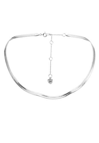 ALDO silver Leipoa Necklace 31503AC2278C1AGS_1