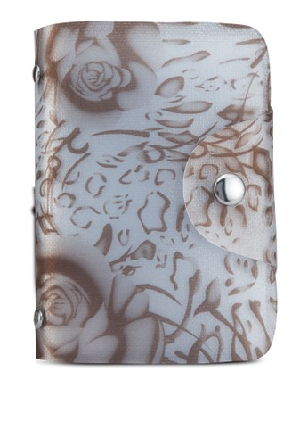玫瑰花果凍卡片收納夾,esprit 面試 包, 皮夾及零錢包