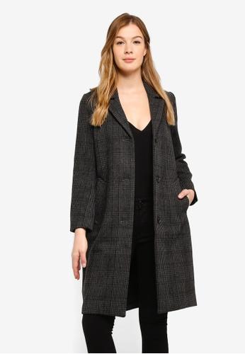 Abercrombie & Fitch grey Dad Coat E05DEAA0BA4D91GS_1