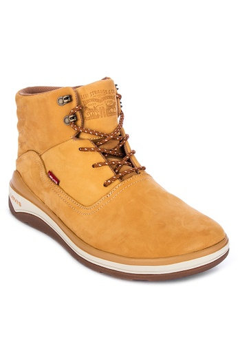 Levi's yellow Pnsl01 Men's Boots 294DDSHBAE70D9GS_1