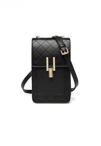 Twenty Eight Shoes Stylish Leather Metal Buckle Mobile Shoulder Bag JW YU-20201117 5AC12AC55C8FCFGS_1