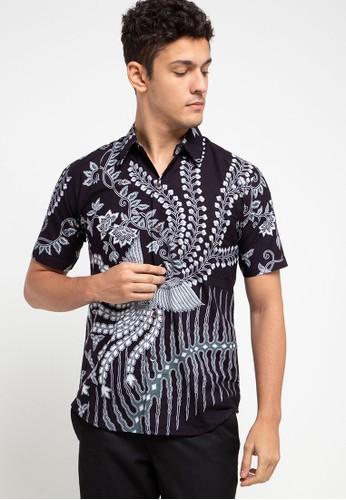 Rianty Batik black Hem Slimfit Dava 4A246AAA71C5BBGS_1