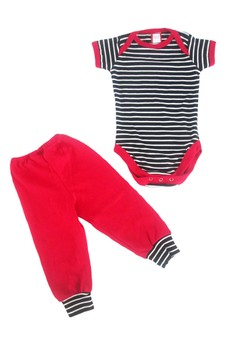 Striped Onesie Set