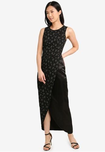 Megane black Red Romance Dorene Slit Gown 5E636AAA6A3C42GS_1