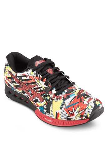 Fuzex 漫畫風設計運動鞋,esprit 內衣 鞋, 運動