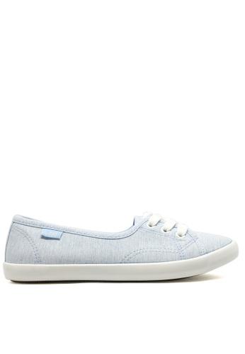 Twenty Eight Shoes blue Lovely Blue lace up shoes 6559 TW446SH31ZWMHK_1
