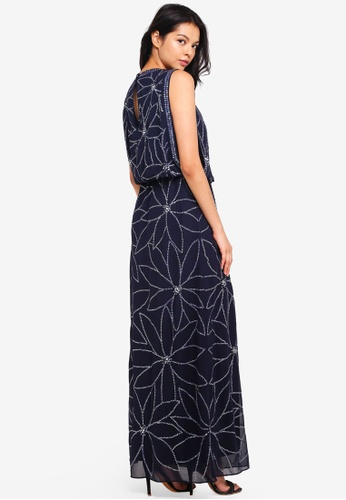 Buy Dorothy Perkins Embellished Maxi Dress Online on ZALORA Singapore a394c9098