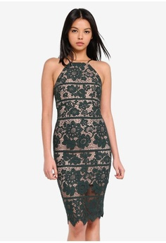 ebde880301 Psst... we have already received your request. Bardot. Mila Lace Dress