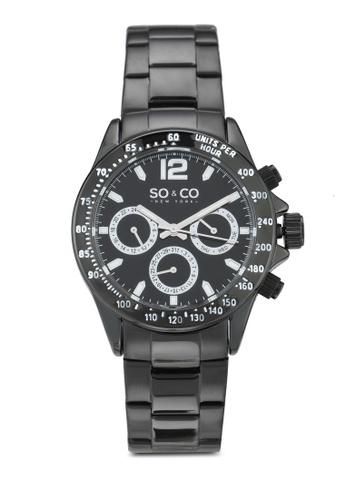 SO&CO black Monticello Watch 5001 9CF6CACE8E25E8GS_1
