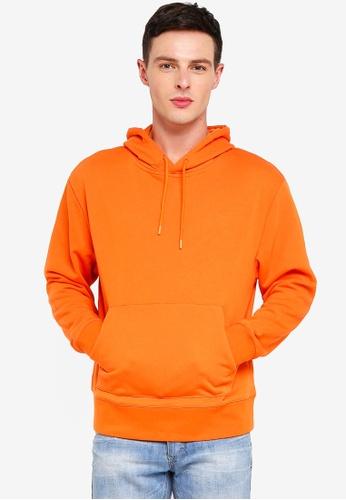 Topman 橘色 連帽上衣 12F5FAAA1205CFGS_1
