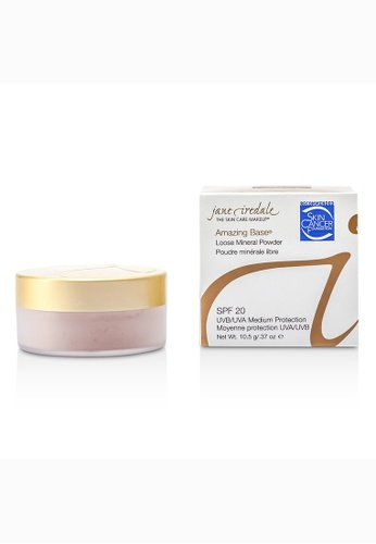 Jane Iredale JANE IREDALE - Amazing Base Loose Mineral Powder SPF 20 - Natural 10.5g/0.37oz 8AA0EBEB396212GS_1