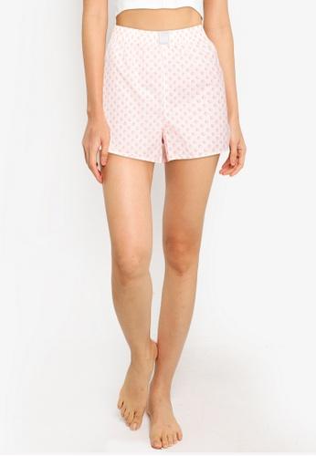 GAP orange Poplin Shorts 14266AA2DD5D8DGS_1