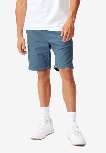 Cotton On blue Washed Chino Shorts E7B85AAED6E587GS_1
