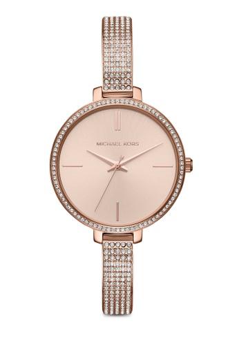 902a6afff3b80 MICHAEL KORS gold Michael Kors Jaryn Rose Gold Watch MK3785 MI165AC0SM57MY 1