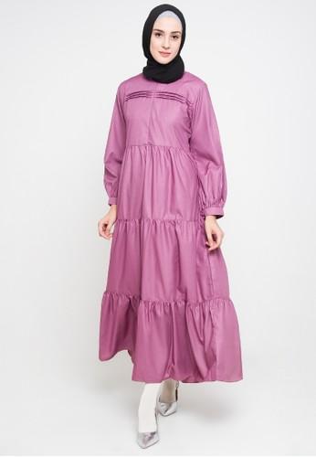 Allev purple Kainah Dress - Ungu BBB56AA02DC590GS_1