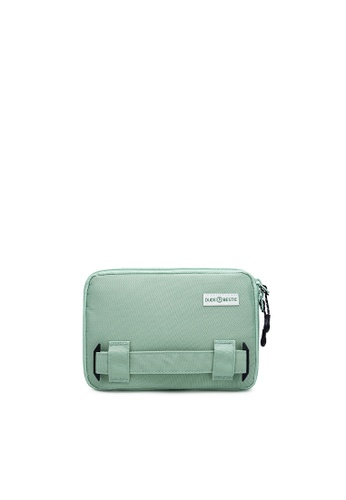 The Dude green Passage RFID Protected Travel Bag B7355AC79CCD4CGS_1