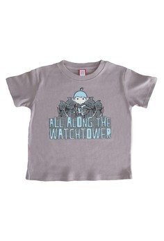 Bug and Kelly Gray All Along the Watchtower Boys Shirt