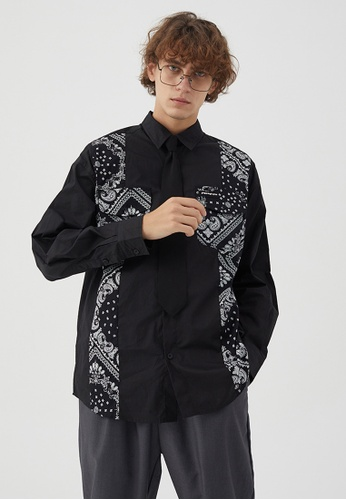 Twenty Eight Shoes Retro Printed Long Shirt(Tie Included)HH0960 01FAFAA1F98A12GS_1