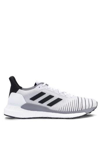 adidas white adidas performance solar glide sneakers 86E51SHF78BCDDGS_1
