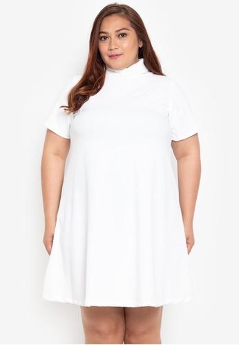 Shop RUESALIDOU Plus Size Giselle Turtleneck Dress Online on ZALORA ...