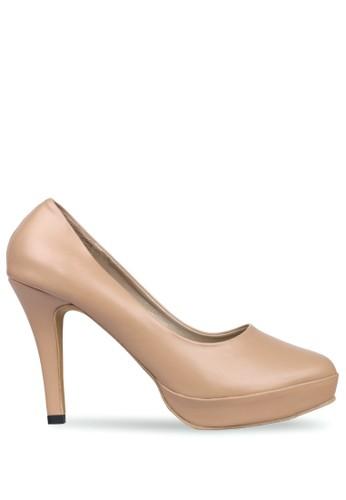 CLAYMORE brown Claymore sepatu high heels MZ  1268 Moca 5574ESH698F819GS_1