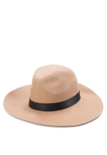 寬帽簷軟呢帽, zalora 台灣門市飾品配件, 飾品配件