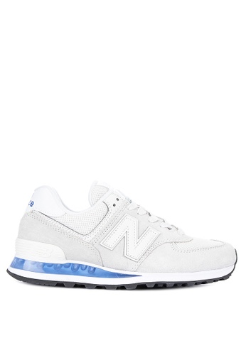 músico dieta Cosquillas  Shop New Balance 574 Classic Synthetic Sneakers Online on ZALORA ...