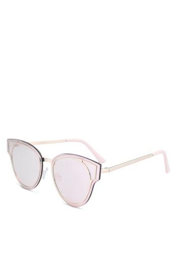 ALDO pink Prardon Sunglasses E6125GLDF0C51BGS_1