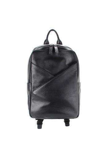 Alef black Madrid Sleek Backpack 34EA8ACA5D1AC7GS_1