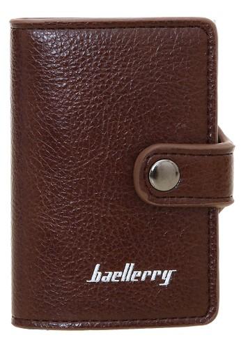 Baellerry brown Dompet Pria Model Pendek Casual Men Wallet Material Kulit Many Slot ORIGINAL CC1A5AC77466F0GS_1