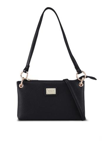 Perllini&Mel black Faux Leather Shoulder/Sling Bag B2E73AC8FD60CAGS_1